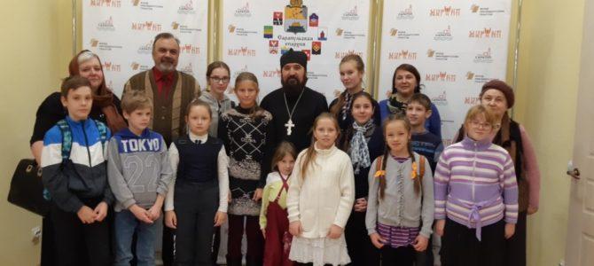 Воспитанники воскресной школы посетили Музей истории религий и национальностей Прикамья