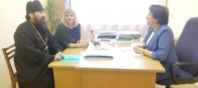 Благочинный Закамского округа иерей Сергий Булдаков посетил МБОУ «Камбарская СОШ № 2»